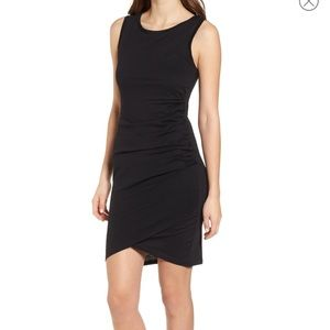 LEITH Ruched Bodycon Tank Dress Size L